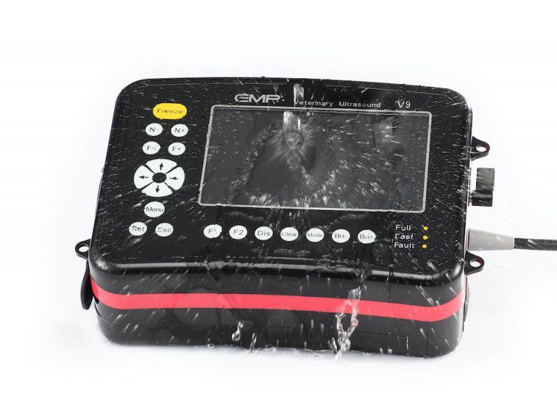 Veterinary Handheld B/W Ultrasound V9